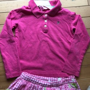 Lilly Pulitzer Shirts & Tops - Lilly Pulitzer toddler polo shirt